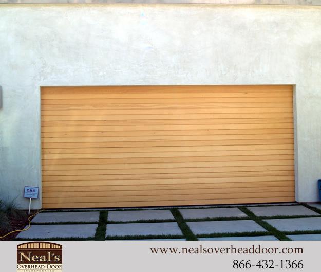 Neals Custom Garage Doors Contemporary Garage Doors