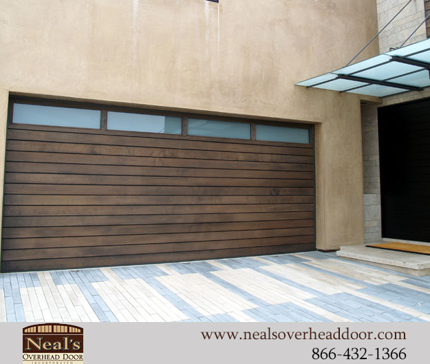Neals Custom Garage Doors Contemporary Garage Doors
