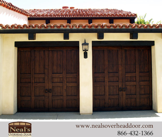 Tuscan style custom garage doors designs and installation for Design personalizzato del garage