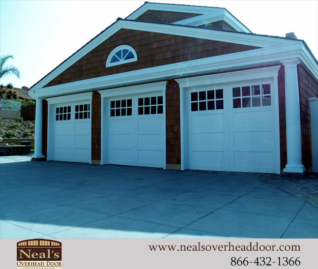 Craftsman Style Custom Garage Doors Designs And Installation Southern California Orange County