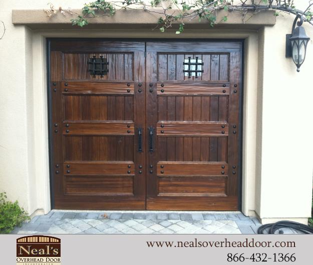 Reclaimed Vintage Wood Custom Garage Doors Designs And Installation Southern California