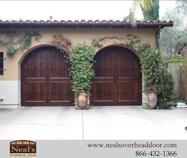 Spanish Style Custom Garage Doors